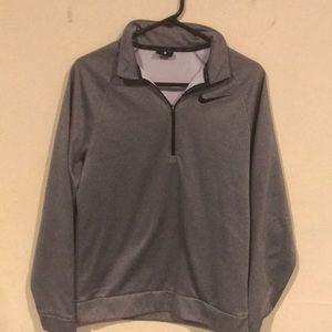 Nike 1/4 zip dri fit shirt, men's size small